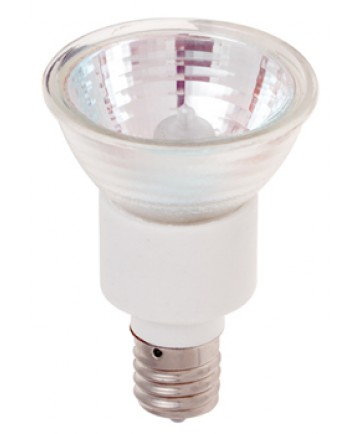 Satco S3434 Satco 75JDR16/N/FL 75 Watt 120 Volt JDR16 Intermediate Base Flood Halogen Lamp
