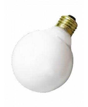Satco S3440 25G25/W 25 Watt 120 Volt G25 Medium Base White Globe