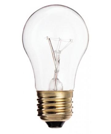 satco s3870 satco 60a15 60 watt 130 volt a15 e26 medium base clear incandescent light bulb. Black Bedroom Furniture Sets. Home Design Ideas