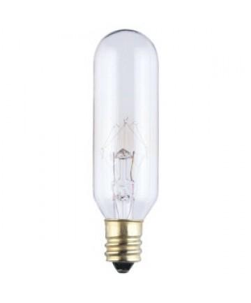 satco s3910 satco 15t6 15 watt 130 volt t6 candelabra base. Black Bedroom Furniture Sets. Home Design Ideas