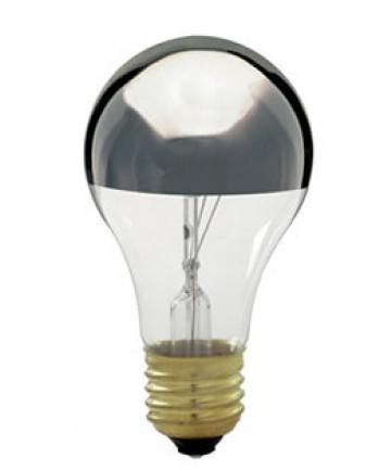 Satco S3955 Satco Light Bulbs 60A/SL - 60 Watt - 130 Volt - Silver Crown - Light Bulb