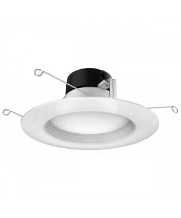 "Satco S39724 9WLED/RDL/5-6/27K/120V Satco 9 Watt LED Downlight Retrofit 5""-6"" 2700K"