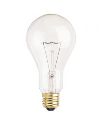 satco s3983 satco 200a23 200 watt 130 volt a23 medium base clear incandescent light bulb. Black Bedroom Furniture Sets. Home Design Ideas
