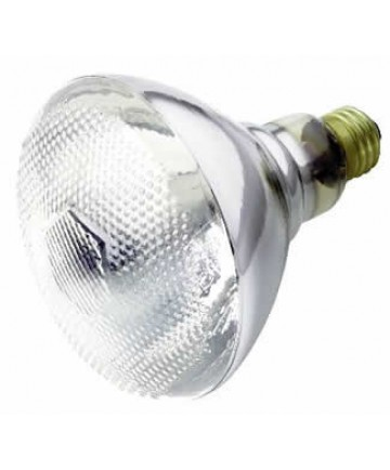 Satco S5001 Satco 150BR38/FL 230V 150 Watt 230 Volt BR38 E27/Medium Base Clear Weather-Proof Reflector Flood Light Bulb