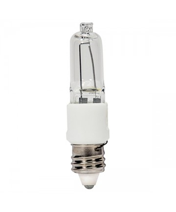 Satco S4487 KX40CL/3M/MC 40 Watt 120 Volt T3 Dimmable E11 Mini Halogen Bulb