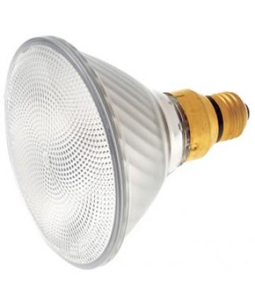 Satco S4631 Satco 75PAR/CAP/WFL 75 Watt 130 Volt PAR38 Medium Base Capsylite Wide Flood Reflector Halogen Light Bulb