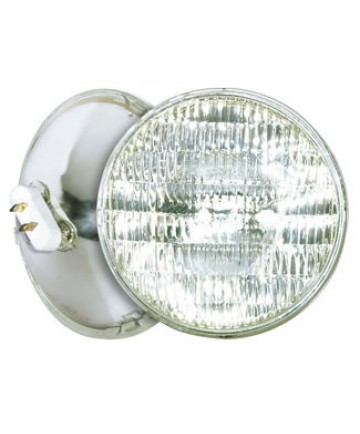 Satco S4671 Satco 1000PAR64Q/NSP 1000 Watt 120 Volt PAR64 Mogul End Prong Base Sealed Beam Narrow Spot Reflector Halogen Light Bulb