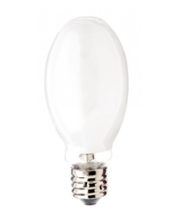 Satco S4242 Satco MS320/C/V/ED28/PS 320 Watt ED28 Mogul Base Pulse Start Coated 3700K Metal Halide Light Bulb