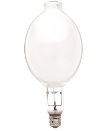 Satco S4396 Satco H36GW-1000DX 1000 Watt BT56 E39 Mogul Base Coated ANSI H36 3900K 10,000 Hour Mercury Vapor Light Bulb