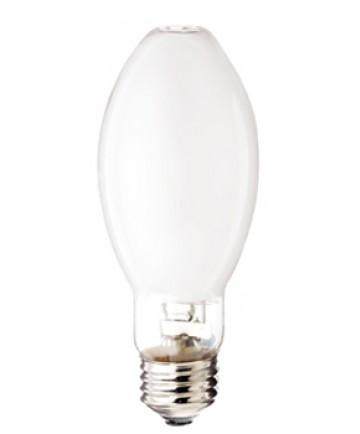 Satco S4851 Satco MP100/C/U/UVS/PS 100 Watt EDX17 E26 Medium Base Pulse Start Coated Open Fixture Metal Halide Light Bulb