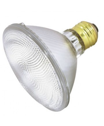 Satco S4923 Satco 75PAR30/CAP/NFL 75 Watt 120 Volt PAR30 Medum Base Narrow Flood Capsylite Halogen Light Bulb