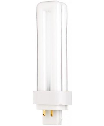 Satco S6730 Satco CF13DD/E/830 13 Watt T4 G24Q-1 4-Pin Base 3000K Dulux D Ecologic Compact Fluorescent Light Bulb (CFL)