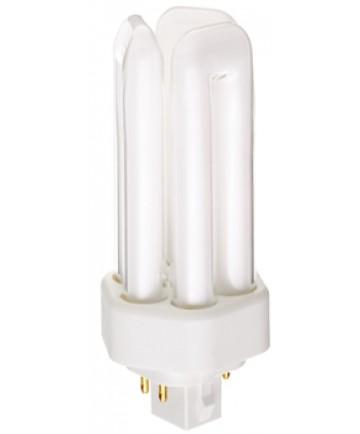Satco S6744 Satco CF18DT/E/IN/841 18 Watt 120 Volt T4 Triple Tube GX24q-2 4 Pin Base Electronic Compact Fluorescent Light Bulb (CFL)