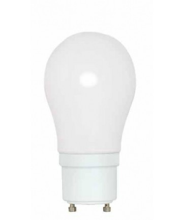 Satco S8225 Satco 15 Watt A-19 120 Volt GU24 Base 2700K 10,000 Hour Energy Star Certified Eco Friendly Compact Fluorescent Light Bulb (CFL)