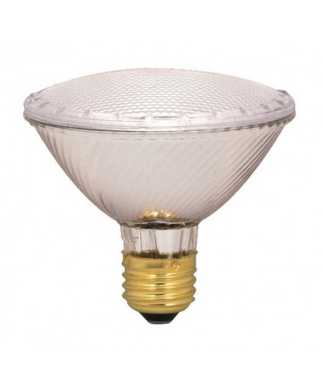 Satco S2335 39PAR30/HAL/XEN/WFL/130V 50-Watt Equivalent PAR30 Clear 39-Watt Wide Flood Xenon Halogen Light Bulb