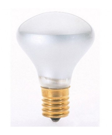 Satco S3215 40R14N 40-Watt R14 Frosted Flood Light Bulb