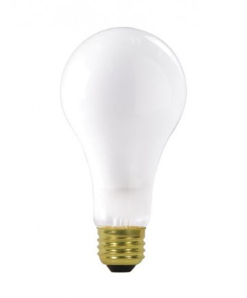 Satco S3945 150A21/FR/120V 150-Watt Frosted A21 Light Bulb
