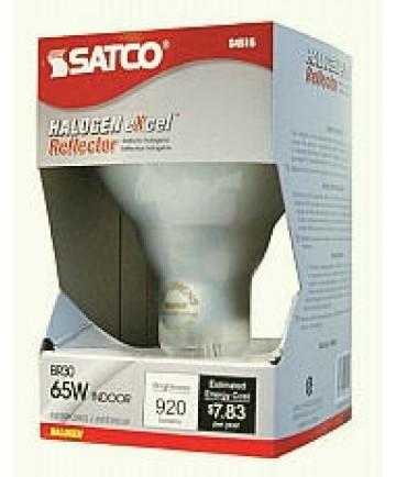 Satco S4415 Satco Light Bulbs 65BR30/FL/HAL/130V 65W BR30 E26