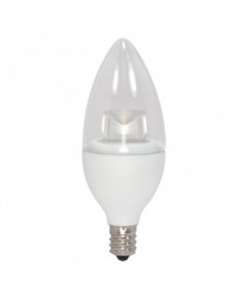 Satco S8983 Satco 5-Watt LED Candle 120-Volt LED Bulb