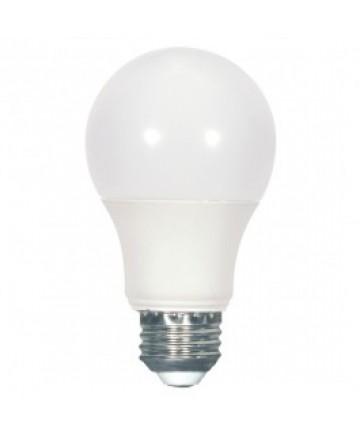 Satco S9112 6.4A19/LED/2700K/120V Satco 6.4-Watt A19 LED Bulb
