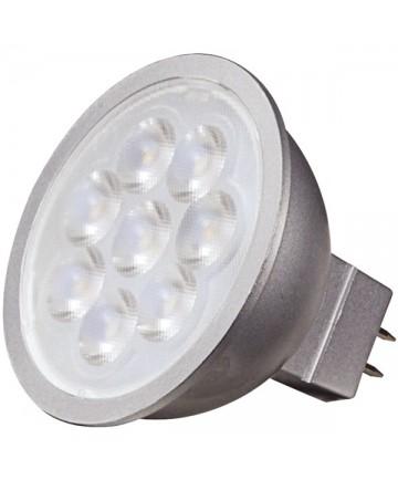 Satco S9496 6.5 Watt MR16 LED Bulb 3000K 40' Deg GU5.3 12 Volt