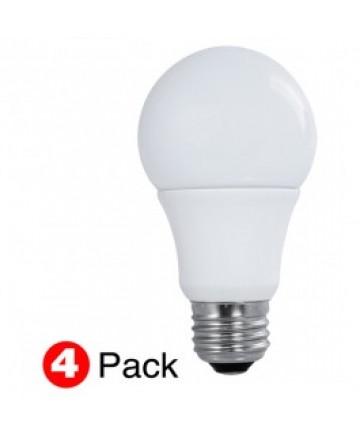 SATCO S29596 | LED 60-Watt Equal A19 Soft White (4Pack)