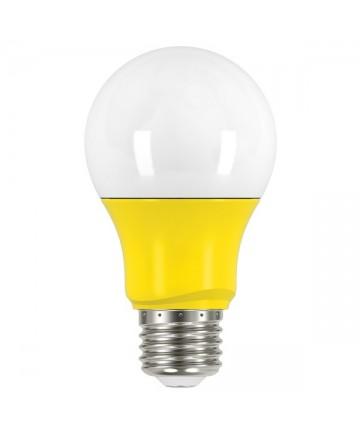 Satco S9645 2A19/LED/YELLOW/120V Satco 2 Watt A19 LED Yellow