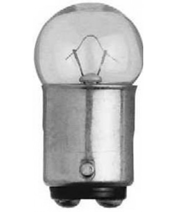 Satco E/68 Satco 7.97 Watt (0.59 Amp) 13.5 Volt G6 DC Bayonet Base Clear Miniature Light Bulb