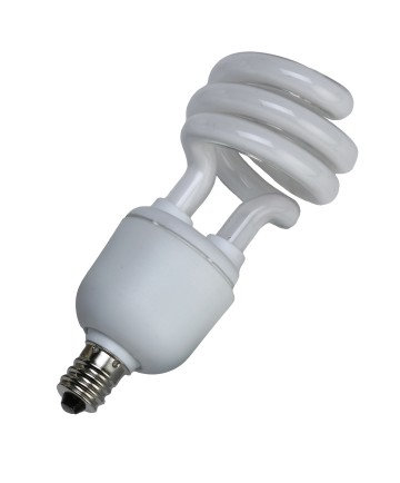 Halco 45055 CFL13/35/T2/E12 13W T2 SPIRAL 3500K E12 PROLUME