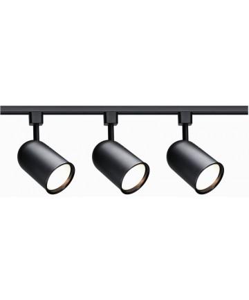 Nuvo Lighting Tk323 Track Kit Black 3 Light Bullet Cylinder Head R30 Incandescent