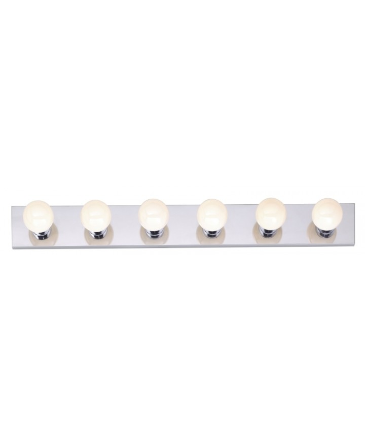 Nuvo Lighting 77 194 Nuvo 6 Light 36 Inch Bathroom Vanity Light Polished Chrome