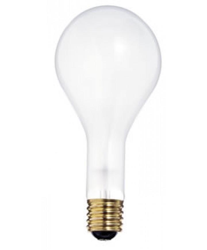 Satco S2989 Satco 500PS35/IF 500 Watt PS-35 130 Volt E39 Mogul Base Inside  Frost 1000 Hour Incandescent Light Bulb