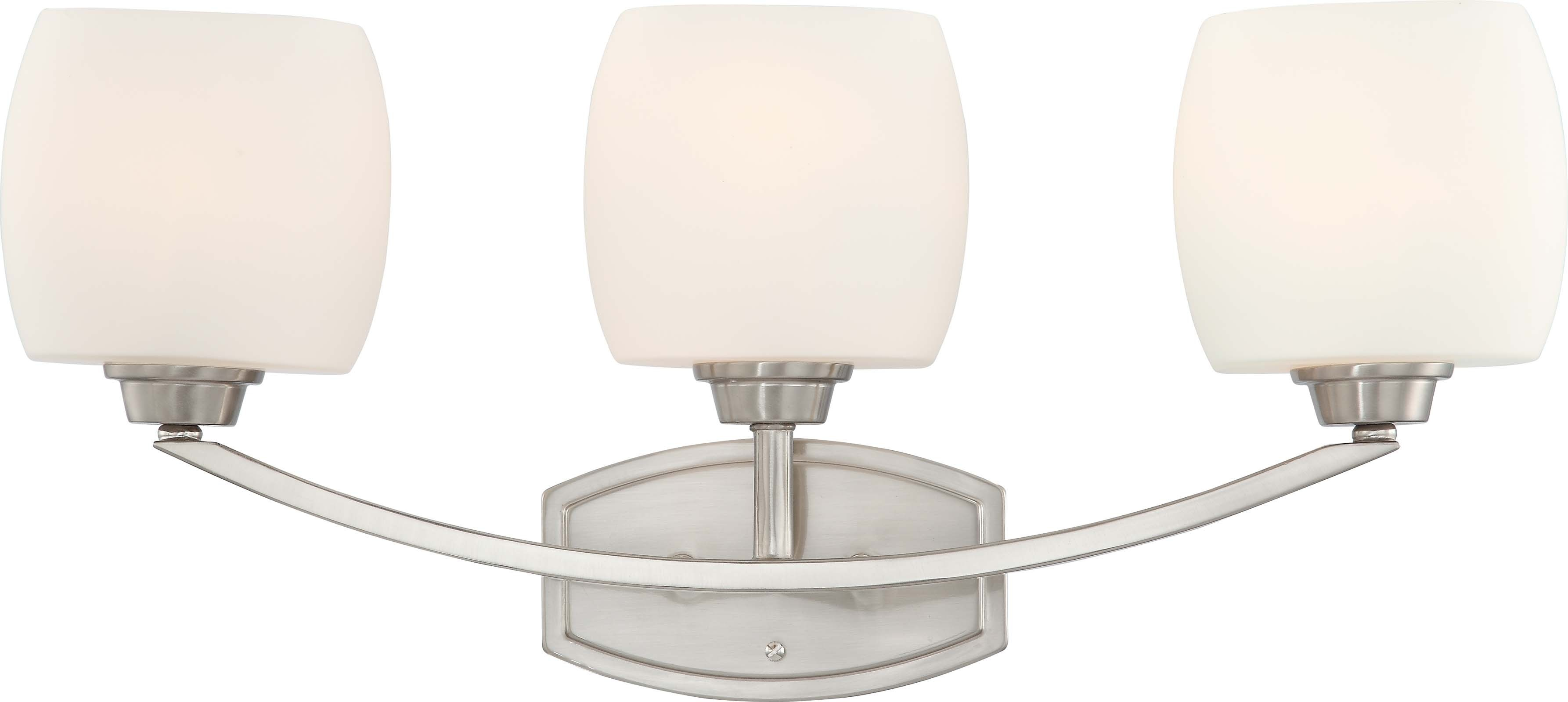 Nuvo Lighting 60/4183 Helium 3 Light Vanity Fixture With