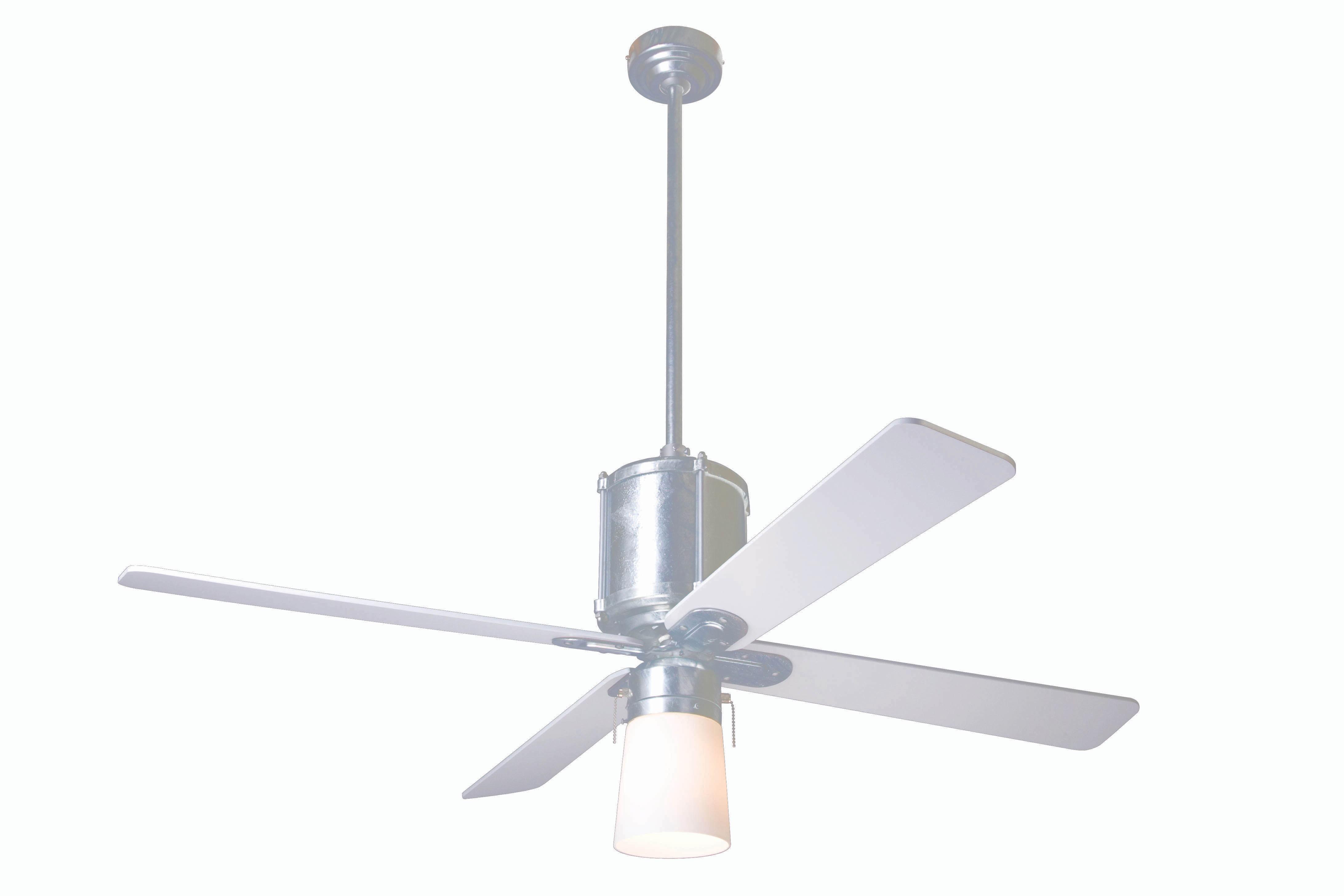 Fan pany IND GV 52 BK 950 002 Industry Galvanized Ceiling Fan