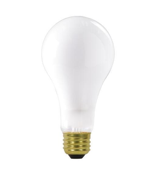 satco s3957 200a23 fr 120v 200 watt frosted a23 light bulb. Black Bedroom Furniture Sets. Home Design Ideas