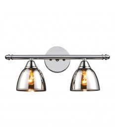 ELK Lighting 10071/2 Reflections 2 Light Vanity in Polished Chrome