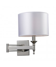 ELK Lighting 10160/1 Pembroke 1 Light Sconce Swing Arm in Polished Nickel
