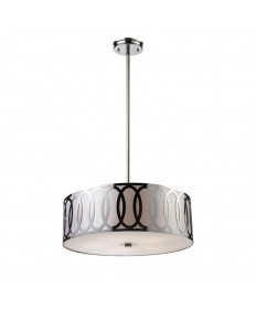 ELK Lighting 10174/5 Anastasia 5 Light Pendant in Polished Nickel