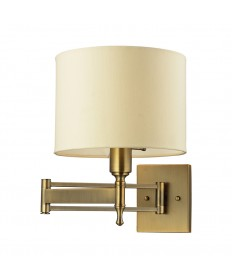 ELK Lighting 10260/1 Pembroke 1 Light Swing Arm in Antique Brass