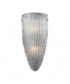 ELK Lighting 10270/2 Luminese 2 Light Wall Sconce in Satin Nickel