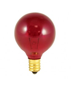 Bulbrite 306010 | 10 Watt Incandescent G12 Globe, Candelabra Base