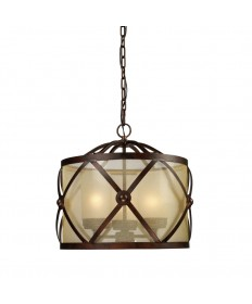 ELK Lighting 14051/3 Cumberland 3 Light Chandelier in Classic Bronze