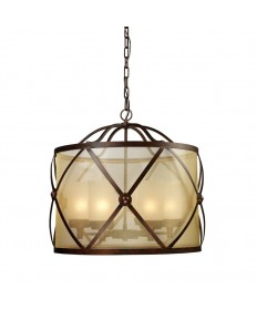 ELK Lighting 14052/6 Cumberland 6 Light Chandelier in Classic Bronze