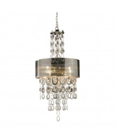 ELK Lighting 14062/3 Parisienne 3 Light Pendant in a Silver Leaf Finish
