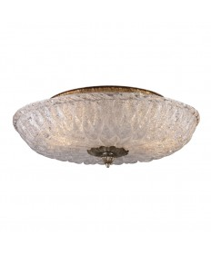 ELK Lighting 1513/2 Providence 2 Light Flush Mount in Silver Leaf