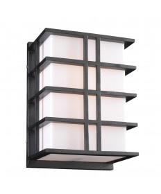 PLC Lighting 16646BZ126GU24 1 Light Outdoor Fixture Amore Collection