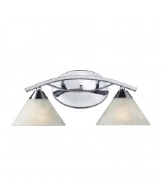 ELK Lighting 17021/2 Elysburg 2 Light Vanity in Polished Chrome