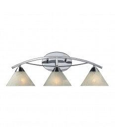 ELK Lighting 17023/3 Elysburg 3 Light Vanity in Polished Chrome