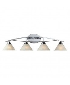 ELK Lighting 17024/4 Elysburg 4 Light Vanity in Polished Chrome