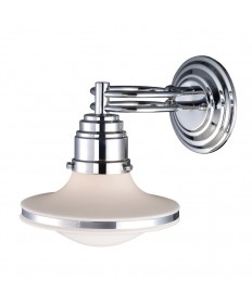 ELK Lighting 17050/1 Retrospectives Retrospective 1 Light Sconce in Polishe Chrome